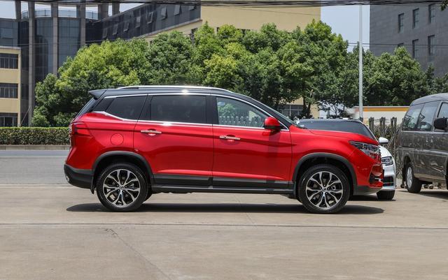 10万不到就能买到SUV,1.5T+6AT,还有大尺寸中控屏
