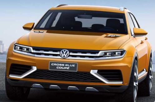 大众Tiguan途观渲染图 或提供新能源车型