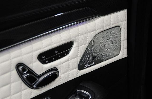 巴博斯S级小巧精致感受,没有夸张的设计,符合消费者审美