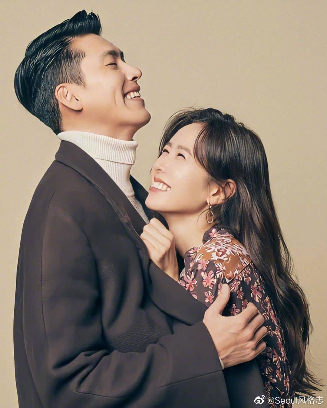 玄彬&孙艺珍为合作新剧《爱的迫降》拍摄宣传画报 剧里讲述了