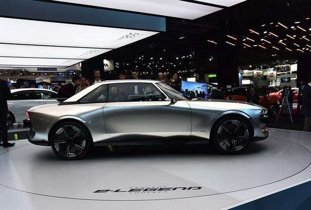 标致e-Legend邀您鉴赏,展现立体感,这样的汽车怎能不爱?
