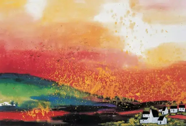 吴冠中早期的水彩画