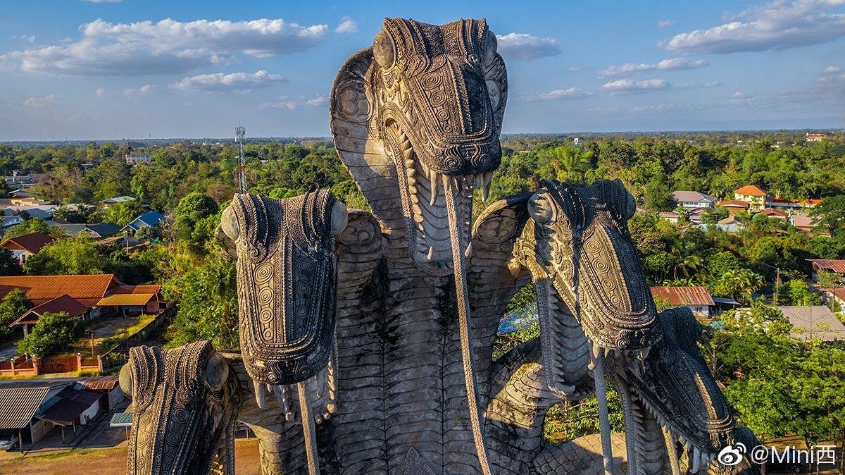 泰北廊开府的撒拉教窟,是泰国的七大奇迹之一
