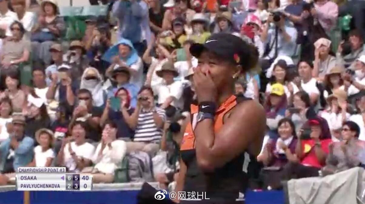 大阪顶级赛决赛,头号种子大坂直美6-2 6-3横扫帕芙柳琴科娃