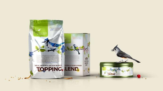 宠物粮食饲料 包装设计参考