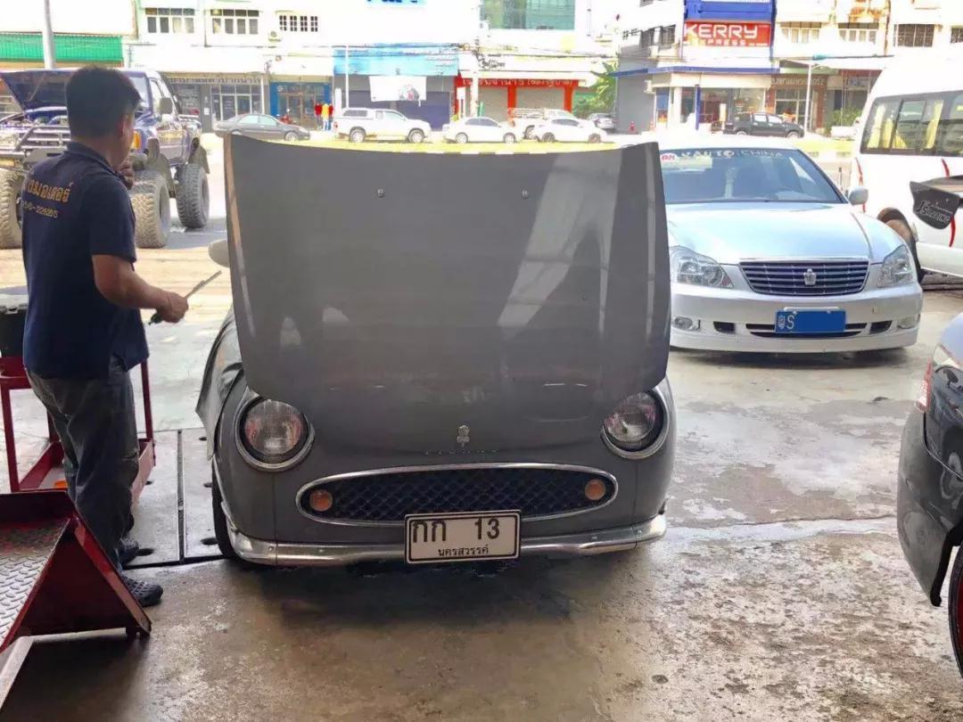 改装车壮游泰国第3集:妹子围着思铭恋恋不舍,保养机油仅需20元