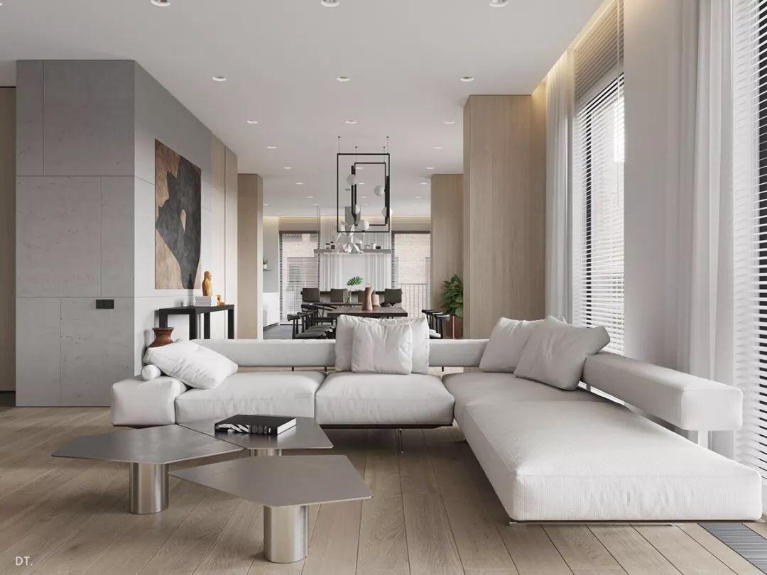 现代奢华,简约精致空间
