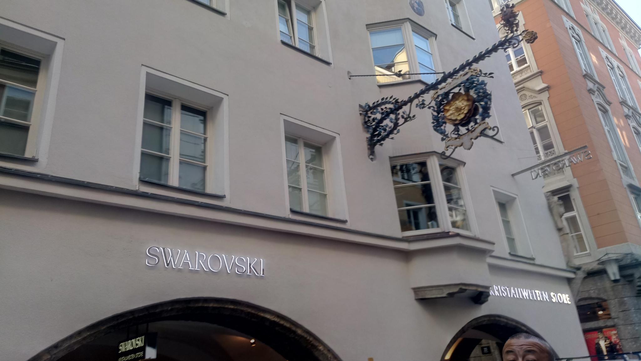 在奥地利,施华洛世奇全球第一旗舰店,入手了跳动的心一只