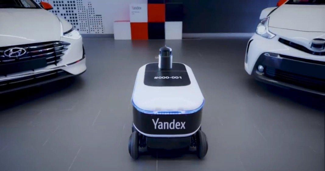 Yandex公司正在莫斯科测试自动送货车。Yandex今天宣布