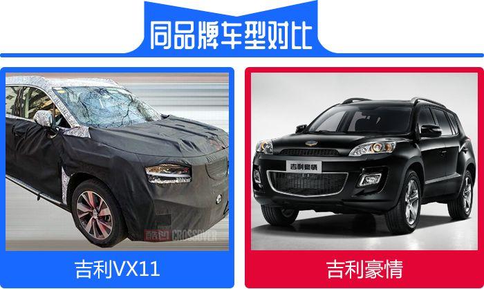 或是豪情重生 吉利VX11七座SUV曝光