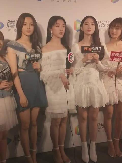 孟美岐、杨超越、 yamy、李紫婷、傅菁、段奥娟、徐梦洁、赖美云、sun