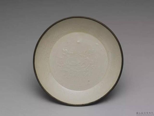 台北故宫博物院定窑白瓷
