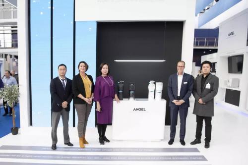 安吉尔哪吒高性能净水器 闪耀2019荷兰水展