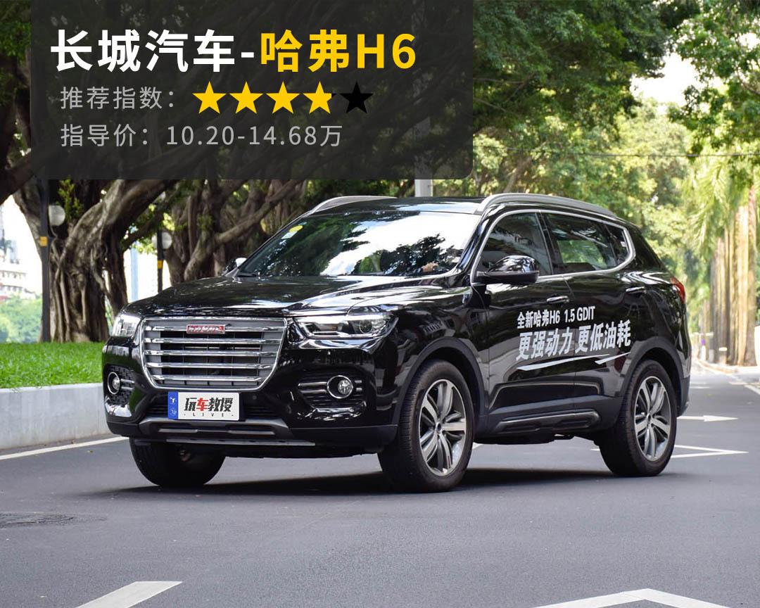 10万起国人最爱的这些SUV价格亲民巨靠谱,跟着买准没错!