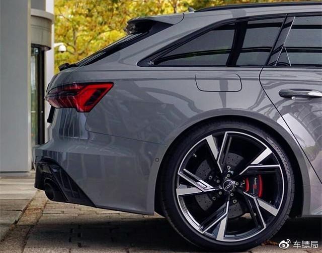 最强″买菜车″!新款奥迪RS 6旅行版亮相,外观更犀利,3.6秒破百