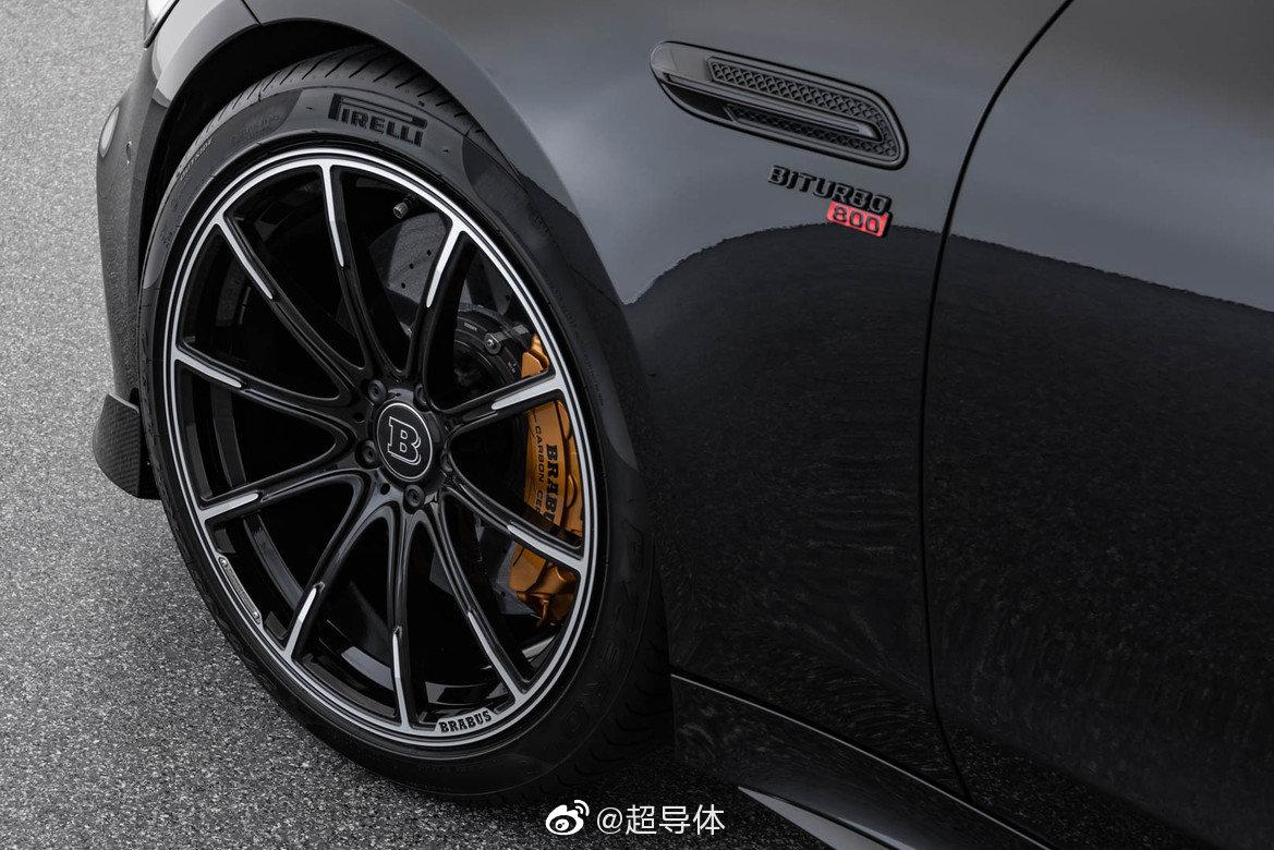 之  基于 Mercedes-AMG GT 63 S 4MATIC+ 的这台 BRABUS 800