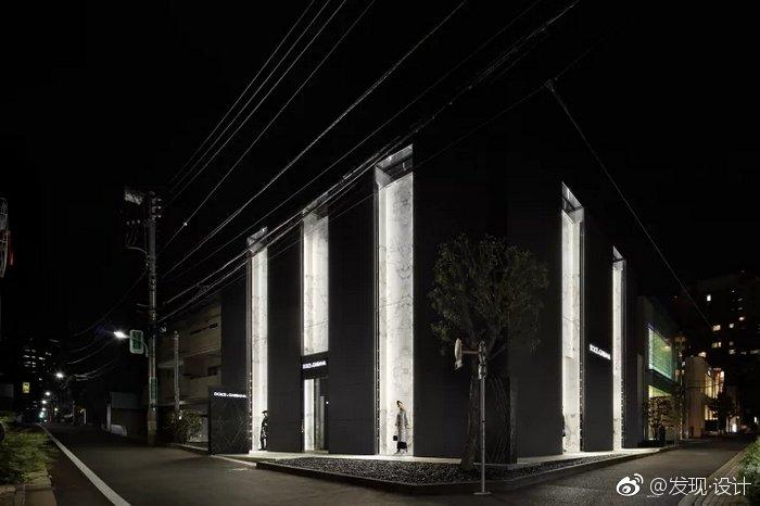 日本青山 Dolce & Gabbana 精品服装店设计