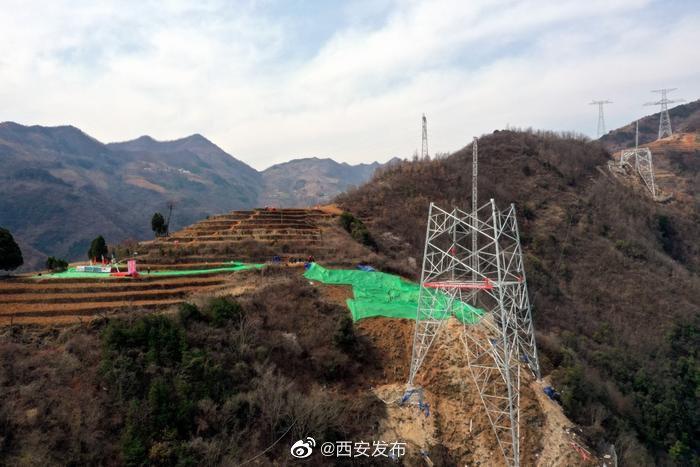 我国首条清洁能源外送专用输电通道陕西段正式复工