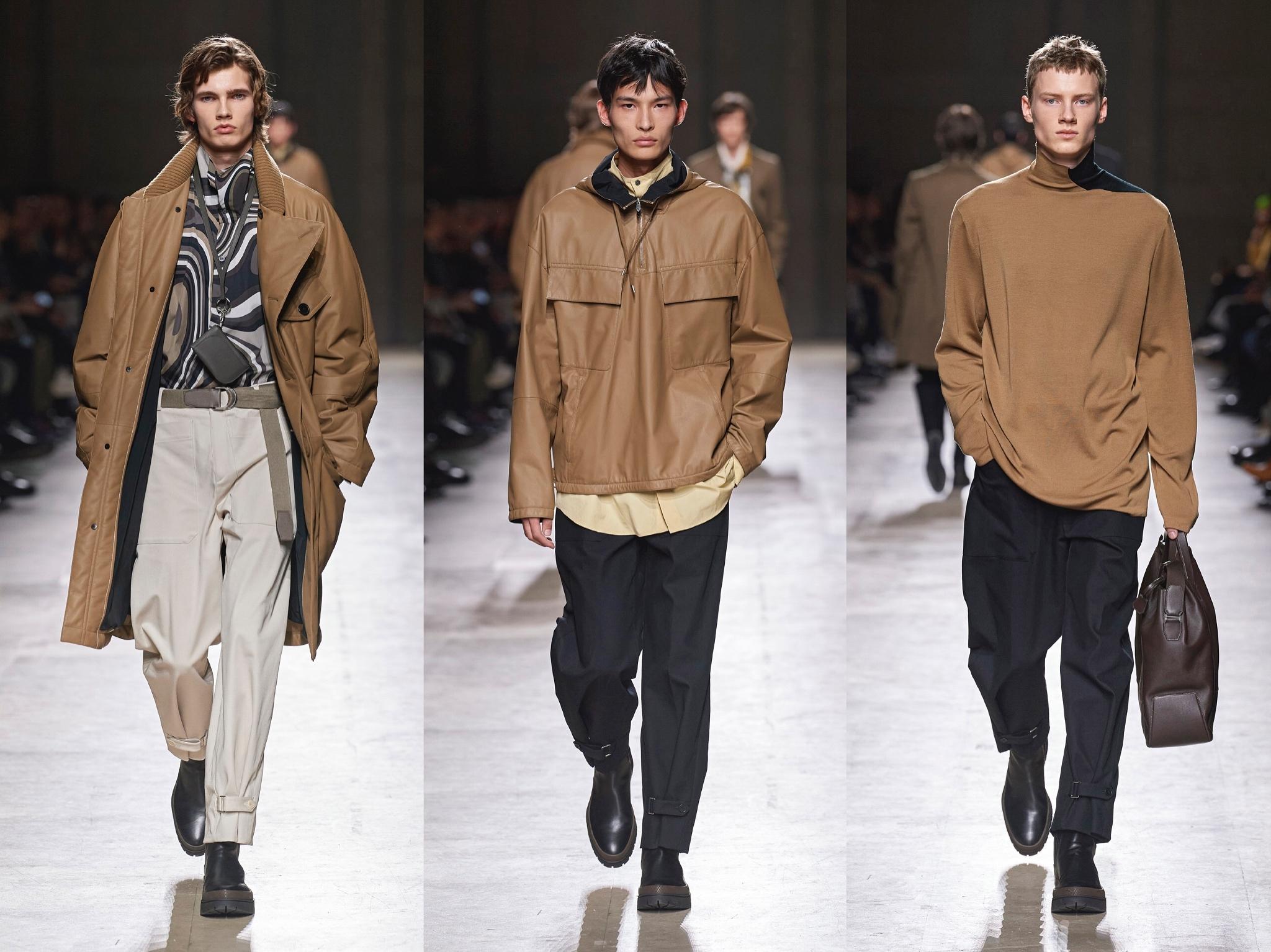 @HERMES 爱马仕2020 秋冬男装系列延续了品牌一贯经典实穿的风格