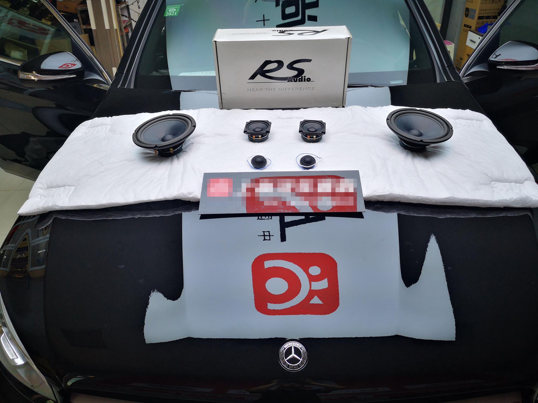 奔驰GLC300L拆掉原车柏林之声升级这套音响!它究竟有什么魅力!