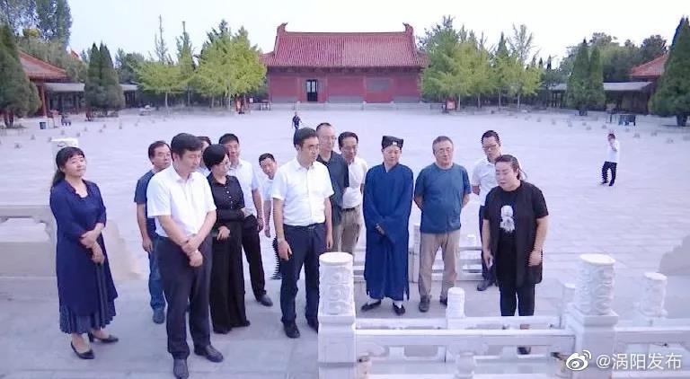浙江省松阳县党政代表团来涡阳考察