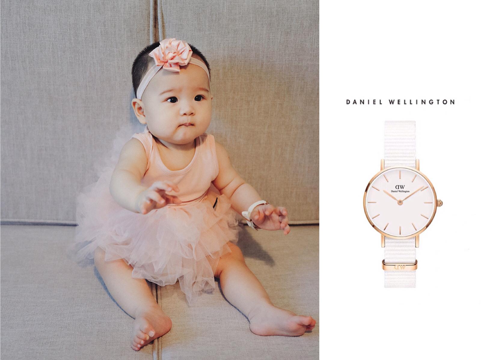 我的手表看起来如何  DW新品 Dover 雅致皓白的织纹表带~更纤细的设