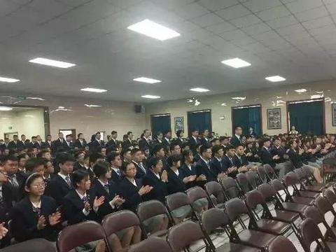 长春这所高中的开学典礼太有范儿!国际化校园就是不一样
