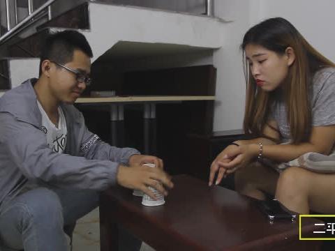 老公给老婆3次机会猜钱在哪个杯子,老公差点就赢了,结局太意外