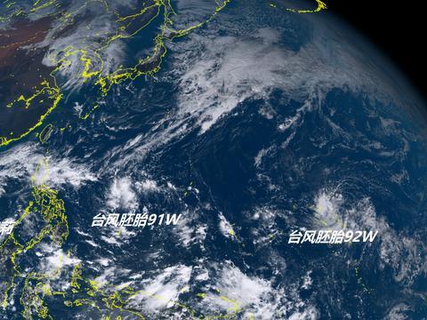 今年还要再刮台风?超级计算机:三台风在酝酿,一个或将靠近我国