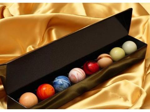 星球巧克力,渐变马卡龙,零食美学,创意与美味并存的伴手礼