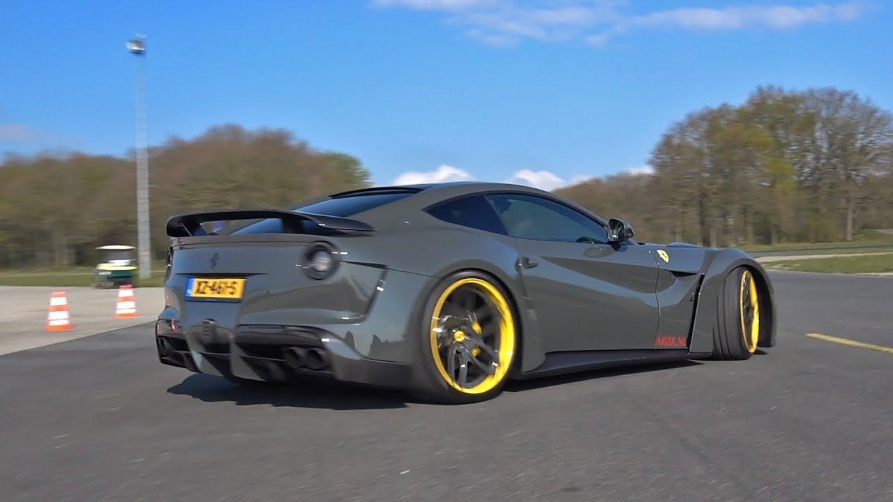 超级汽车加速!法拉利F12 n -拉戈,Aventador S, 720S