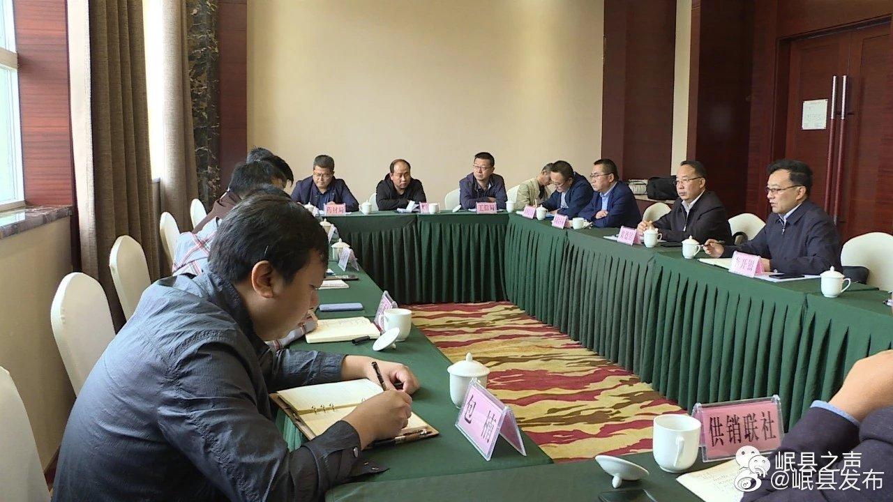 近日,岷县召开中国汉广集团岷县中药产业调研工作启动会。会上