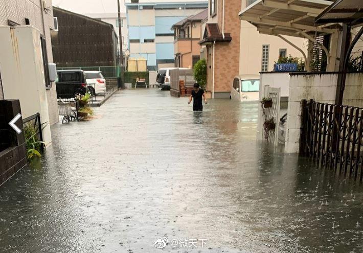 """东京、神奈川、群马、长野、静冈…""""你可能从没见过的暴雨"""""""