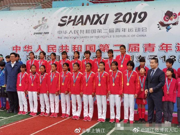 太棒了!丹阳一学校女足8:0战胜上海,江苏夺冠