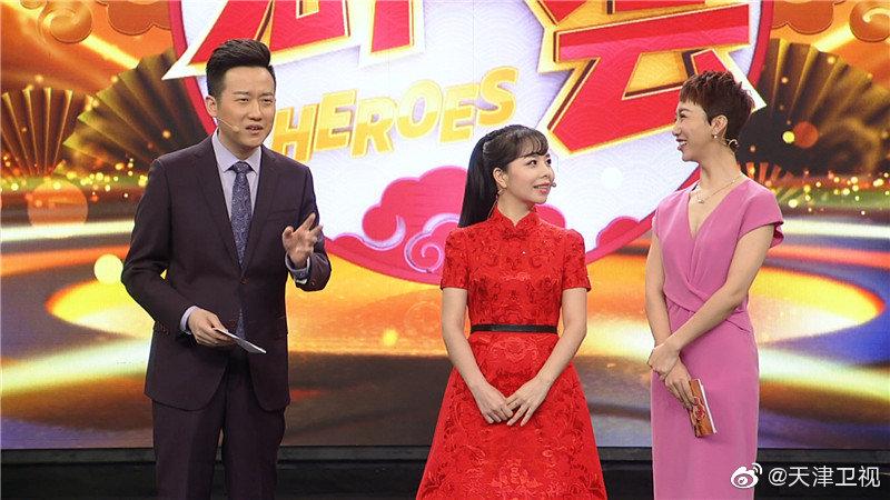 10月4日晚天津卫视《群英会》节目邀请到的大来宾是青年歌唱家王二妮