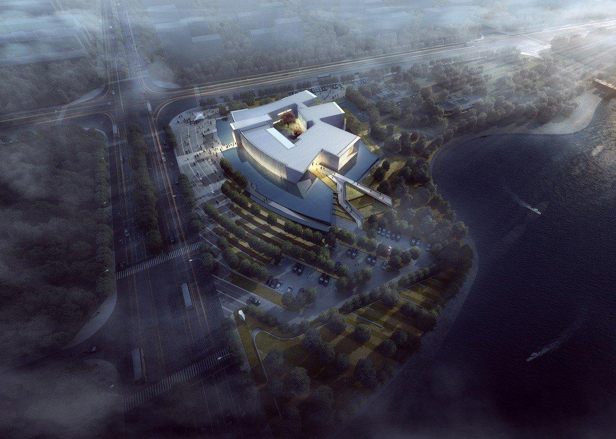 流动中的空间变换——张家港智慧科学城城市展厅 / 上海天华建筑设计@