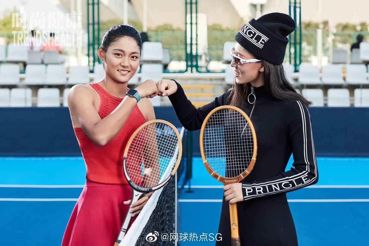中国女网领军人物:王蔷,王雅繁,张帅,郑赛赛的一组时尚大片出炉