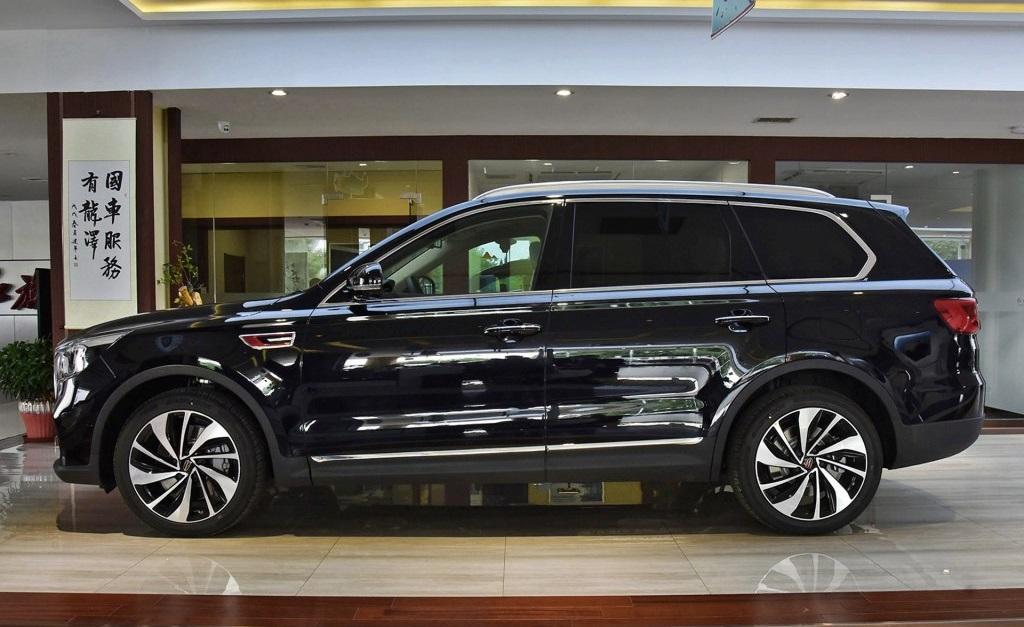 红旗中大型SUV HS7上市,搭载3.0T发动机,售价34.98万起
