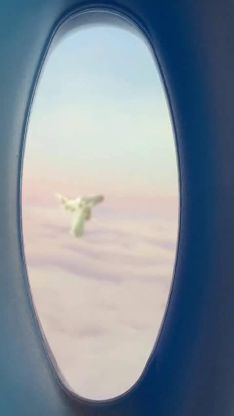 今天这趟飞机搭的真的值了,竟然看到了火神旭凤。。