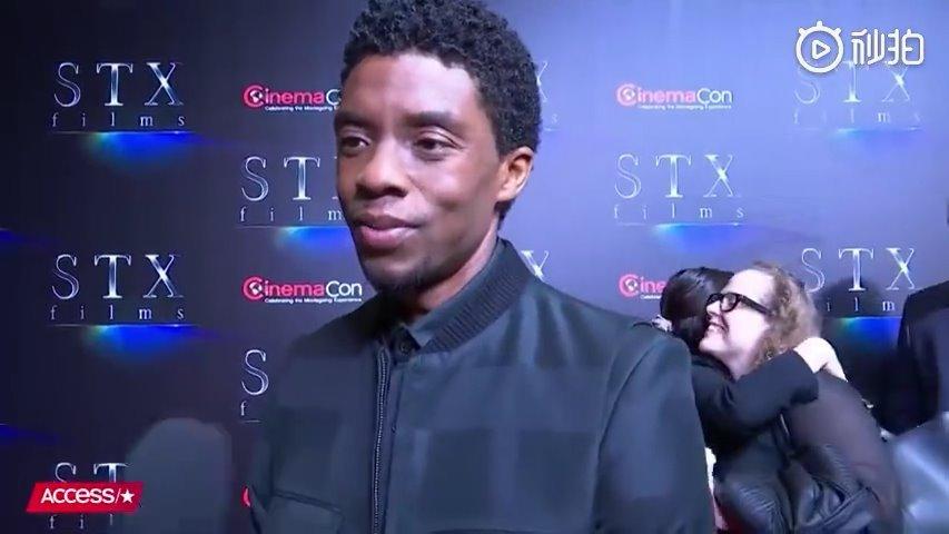 """""""我死了!""""黑豹Chadwick Boseman如此回答《复联4》问题迅速走红"""