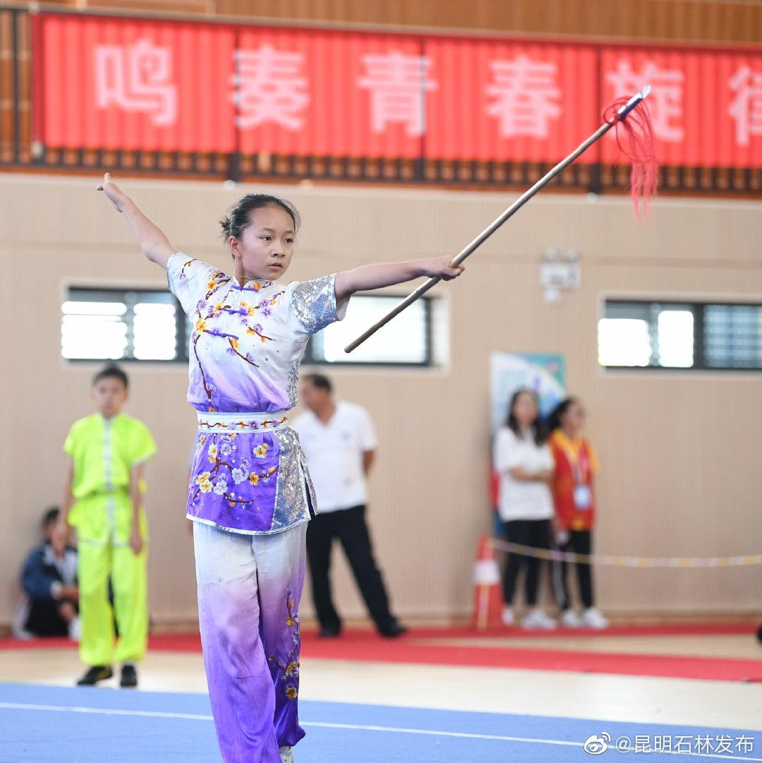 市六运会青少年组武术套路比赛结束 五华区代表队获团体总分和金牌数