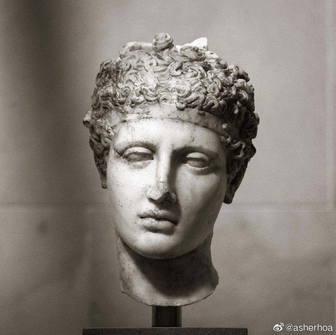 公元138–192年间罗马人对一尊公元前5世纪古希腊运动员铜像的大理石
