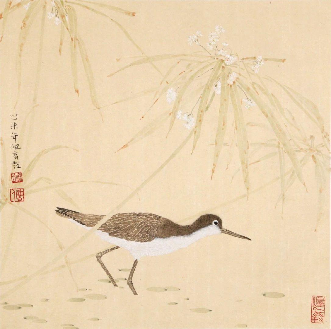 """潘天寿曾说的:""""设色须淡而能深沉,艳而能清雅"""