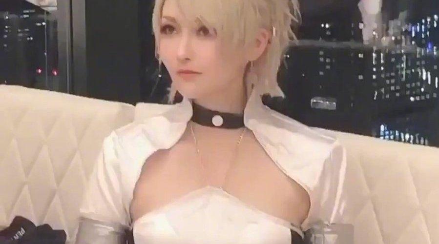 最终幻想15 和平条约缔结纪念典礼 露娜 (.Rui)