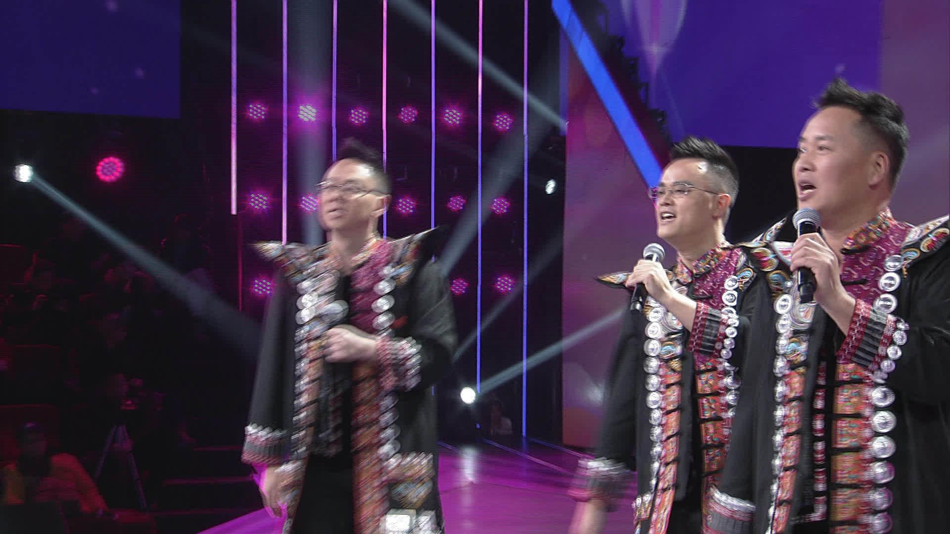 本周周赛选手介绍:刘淇境、苏彬、杜继臣三人系彭水娇阿依组合成员