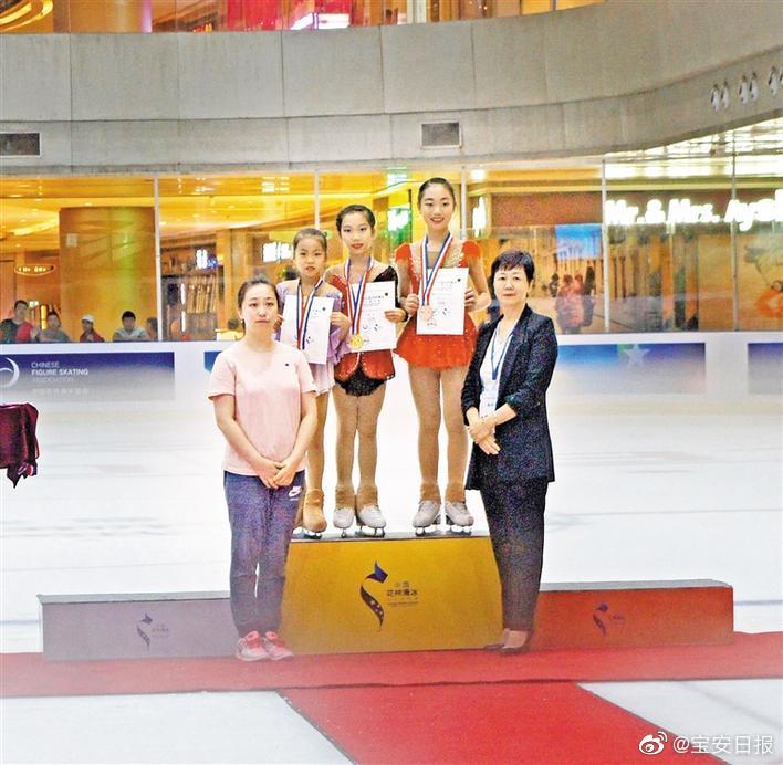 2019中国花样滑冰俱乐部联赛深圳站龙华花滑小将首战告捷