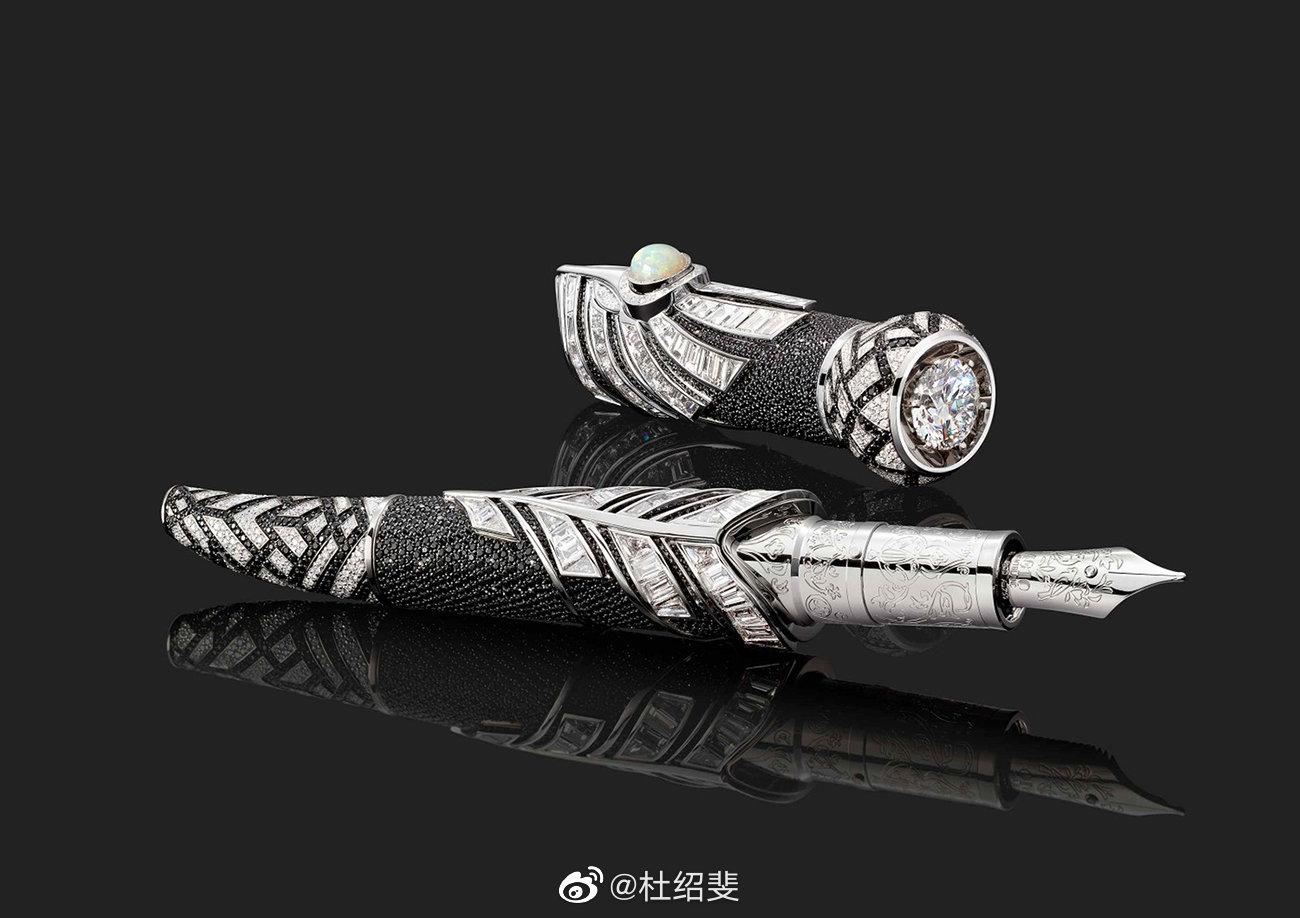 万宝龙发布全新限量款臻藏系列,其外观灵感来自传统的莫卧尔匕首