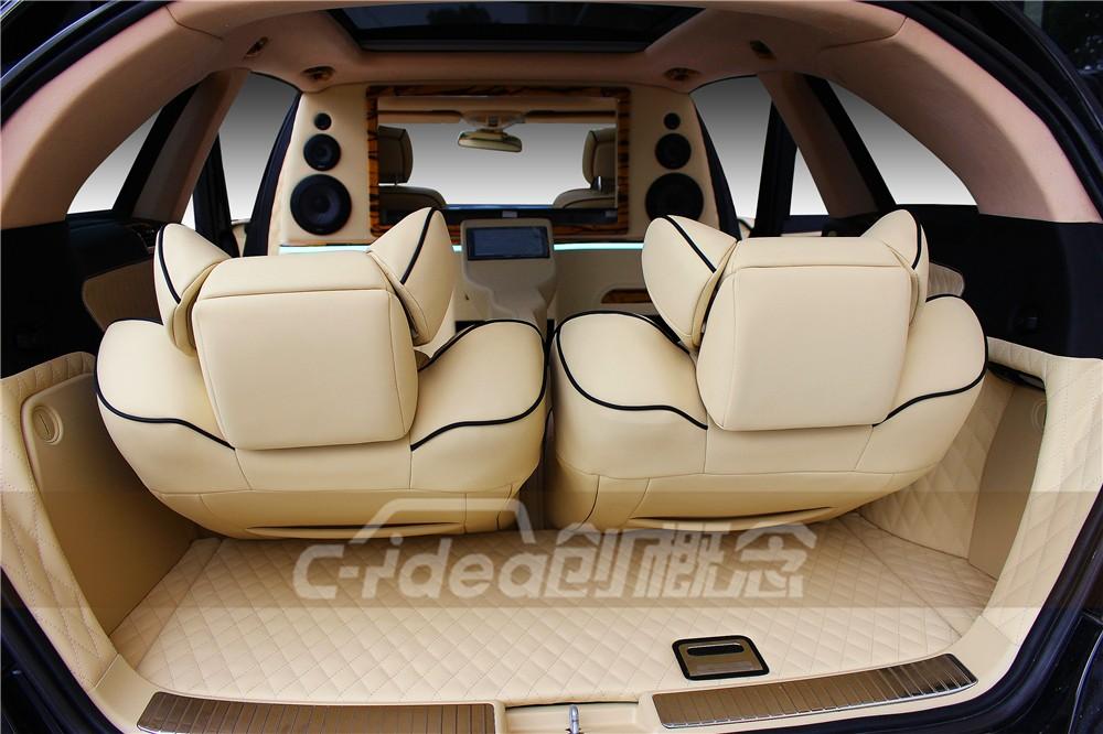奔驰R320内饰带来轻奢质感,一起看看是怎么回事