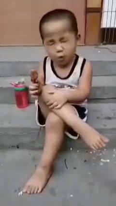 吃嘛嘛香!