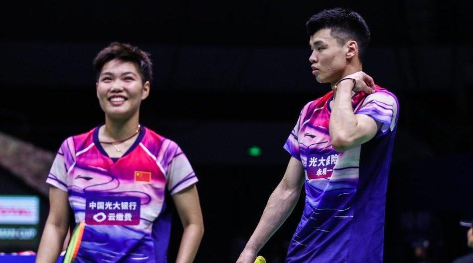混双半决赛 王懿律/黄东萍vs邓俊文/谢影雪 高糊清流版 决赛黄鸭vs乔
